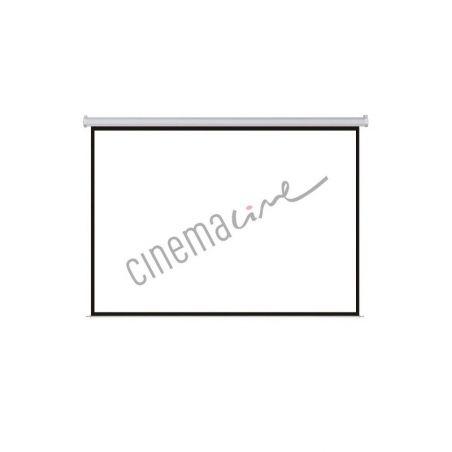 Ekran CINEMALINE 244x244 (1:1) MW z ramką
