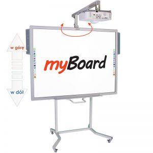 Zestaw interaktywny myBoard Silver 70''S, projektor EPSON EB-520 oraz głośniki myBoard sound AMP-32