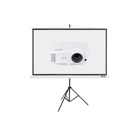 "Projektor Acer P1250 + Ekran T82-W01MW 82.5"""