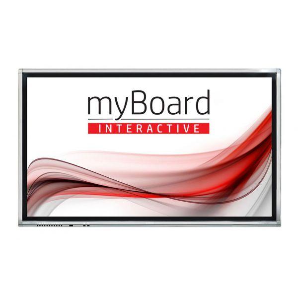 "Monitor Interaktywny MyBoard Grey TE-XP 65"" 4K"