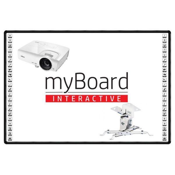ZESTAW INTERAKTYWNY 5 + Vivitek DS262 + Myboard 86C Nano + UP 12 - 4