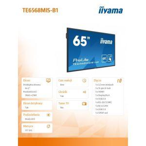Monitor interaktywny iiyama TE6568MIS-B1AG  dotykowy