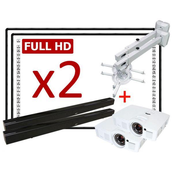 Zestaw interaktywny Duet Black Full HD + montaż i szkolenie