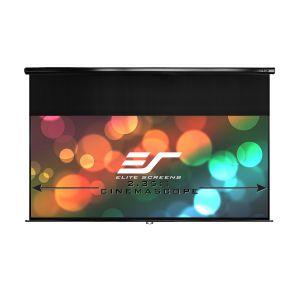 "Ekran manualny Elite Screens M84NWH (16:9) 185×104 84"" biała kaseta"