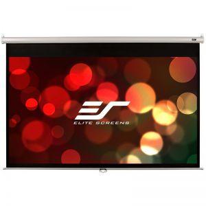 "Ekran manualny Elite Screens M86NWX 185×115 (16:10) 86"" biała kaseta"