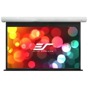 Ekran elektryczny Elite Screens (16:9) biała kaseta