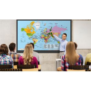 Zestaw: 1x monitor Newline TruTouch TT-6518VN  + 1x monitor Newline TruTouch T-5515EX + 2x MozaBook Classroom